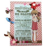 BUKU UNIK Be Brave Be Fearless [CBB-155] - Scrapbook and Patchwork